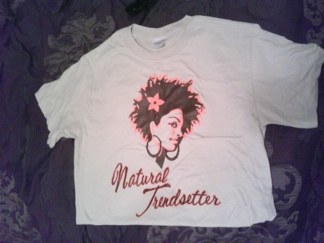 Natural Trendsetter t-shirt!