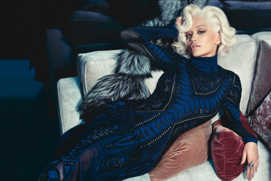 Rita Ora faces Roberto Cavalli Fall 2014 ad campaign