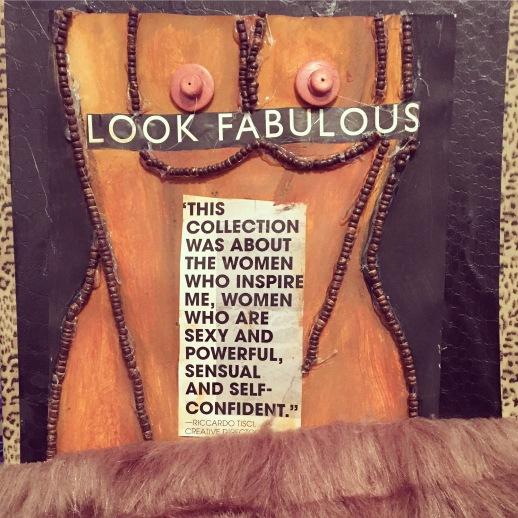 """Look Fabulous"" Mixed Media Figure Study"