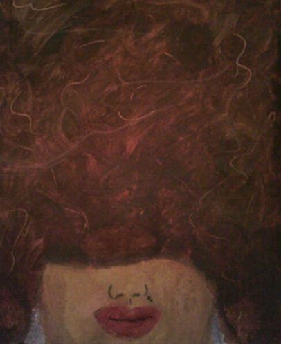 Self Portrait by Alexis Lewis - thevagrinda.com